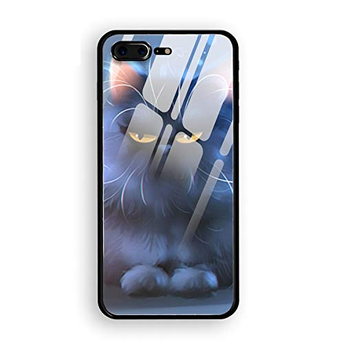 - iPhone 7/8 Plus Case Spoiled Kitty Printed Hard PC Durable Rubber Protective Case Cover for iPhone 8 Plus/iPhone 7 Plus 5.5 inch
