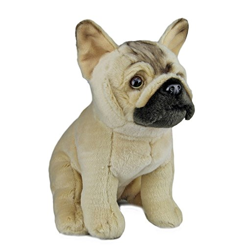 French Bulldog Soft Plush Toy Dog Stuffed Animal 12 in / 30 cm by Faithful Friends Collectables