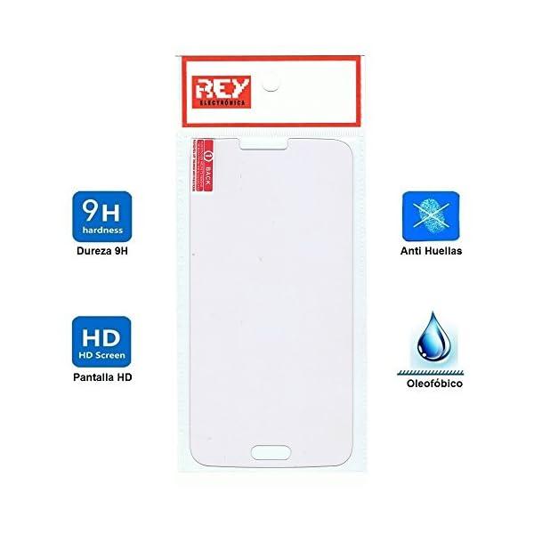 Electrónica Rey Protector de Pantalla para Samsung Galaxy S5 / S5 Neo Cristal Vidrio Templado Premium 6