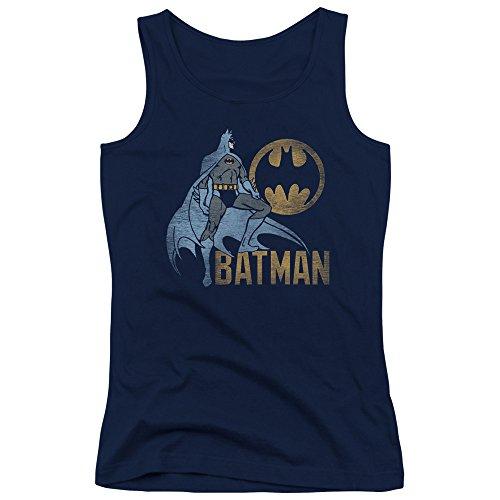 Batman-DC-Comics-Knight-Watch-Vintage-Style-Juniors-Tank-Top-Shirt