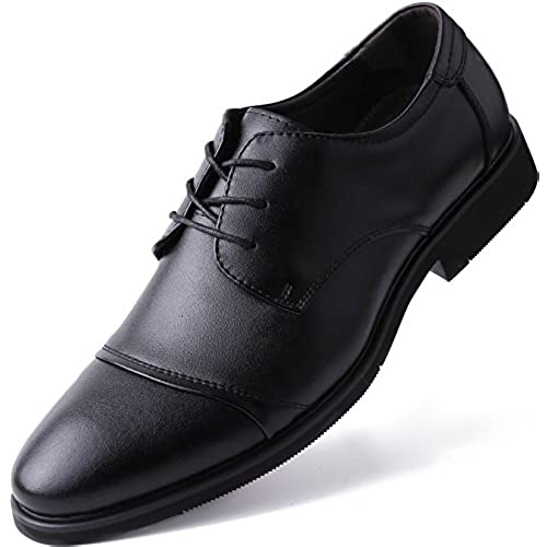 Marino Oxford Dress Shoes for Men - Formal Leather Men's Shoes