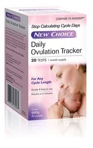 New Choice Daily Ovulation Tracker, Strip Pack of 100
