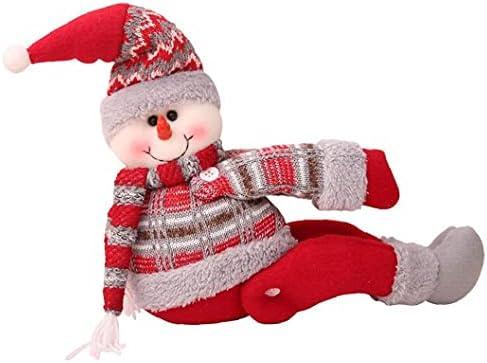 Kerst gordijn Tiebacks Kerstman Sneeuwpop gesp Holdbacks Gordijn Clips Gordijn Tie Ruggen Venster Strap Gesp Houder