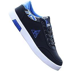 New Arrival NEW Fashion Men's Shoes Casual Breathable Comfortable Soft Flat Shoes Lace-up Men Shoes Hot Fashion Shoe 2017 Blue 9.5