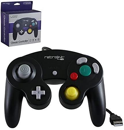 Amazon com: Retro Link GameCube Style USB Wired Controller
