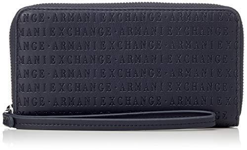 5x2 Exchange T Armani X Zip Fabric Femme b Bleu 10 Cm H Round 5x19 navy Sacs Menotte vBfxqfwd