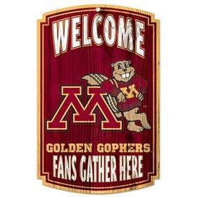 (WinCraft NCAA University of Minnesota 72781091 Wood Sign, 11