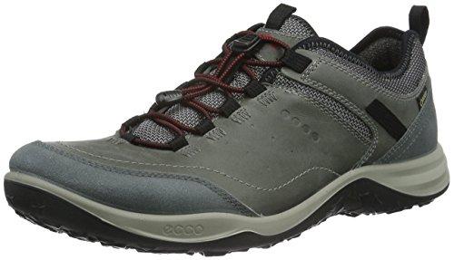 ECCO Espinho, Zapatillas de Deporte Exterior para Hombre Gris (TITANIUM/DARK SHADOW57486)