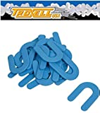 "1/16"" Horseshoe Shim Tile Spacer Blue 200/JAR Troxell USA -"
