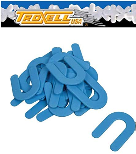 "Troxell USA 1/16"" Horseshoe Shim Tile Spacer 200 PCS/JAR"
