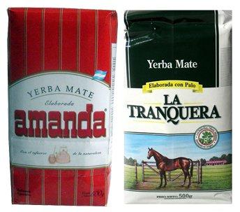 Nobleza Gaucha Yerba Mate - Yerba Mate Sampler 6 Pack 1.1 lb Ea Variety Flavors Bags Green Loose Herbal Tea