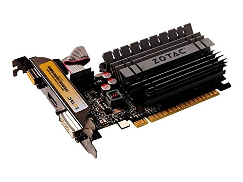 41v%2By4GlvzL - Zotac NVIDIA Low Profile PCI-Express Video Card ZT-71113-20L