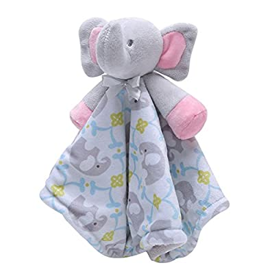 FULLANT Security Blanket Soothing Toy Soft Plush Teething Cloths Towel Toys for 0 to 36 Months Baby & Toddler - Kids Boys Girls Gift