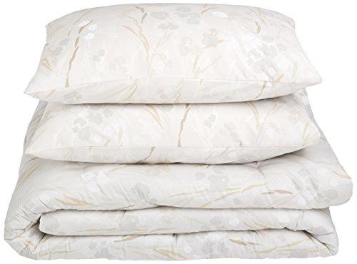Calvin Klein Home Blanca Comforter Set, King, Smoke