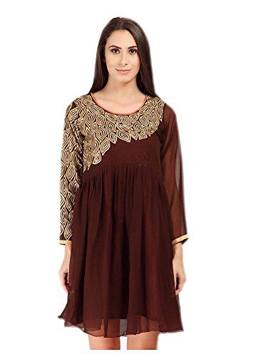 la station bédouine Style de couvrir mini mini usure l'usure robe robe plage Jayayamala Brown bohème Automne Resort qwXIX76O