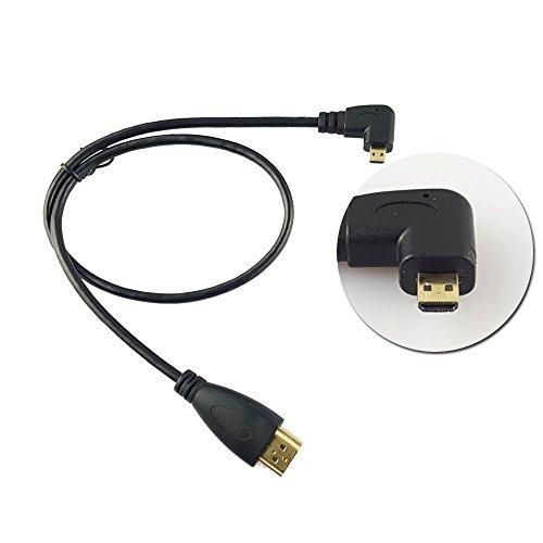 Seadream 20 50CM 90 Degree Angle Micro HDMI Male To HDMI Male Cable (Right Angle)