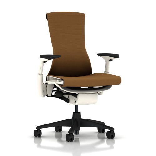 Embody-Chair-by-Herman-Miller-Fully-Adjustable-Arms-White-Frame-and-Graphite-Base-Hard-Floor-Casters-Molasses-Rhythm