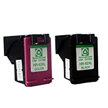 CAIDI (TM) Compatible Ink Cartridges Replacement for Hp 62 Combo Set Black & Color - 2 Packs