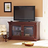 Better Homes and Gardens Ashwood Road Cherry TV Stand, for TVs up to 47