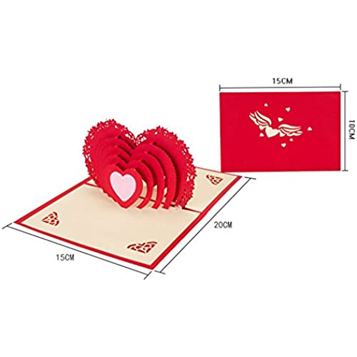 3d Pop-up Greeting Card Handmade Greeting Card Best Gift for Lover Sales