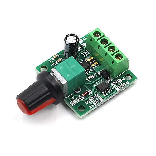 FICBOX 3 PACK 1.8v 3v 5v 6v 7.2v 12v 2A 30W DC Motor Speed Controller (PWM) 1803BK 1803B Adjustable Driver Switch