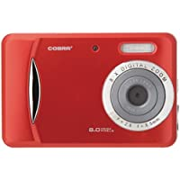 COBRA DIGITAL DC8650RD 8.0 Megapixel 3-in-1 Digital Camera (Red)