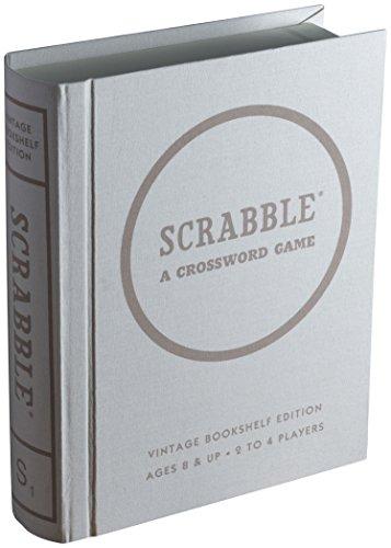Scrabble Linen Book Vintage