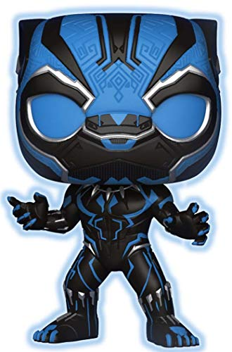 Funko Pop Marvel Black Panther - Glow in Dark Exclusivo de Walmart