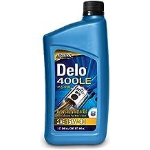 Delo 400 SDE SAE 15W-40 Motor Oil - 1 Quart Bottle (Pack of 12)