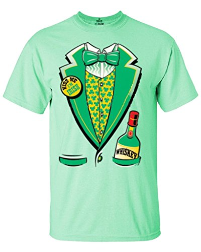 Shop4Ever Irish St. Patrick's Tuxedo T-shirt Saint Patrick's Day Shirts