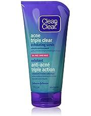 Clean & Clear Clean & Clear Acne Triple Clear Exfoliating Facial Scrub With Salicylic Acid, 141g