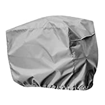 MagiDeal Heavy Duty Waterproof Marine Outboard Motor Boat Engine Cover Protector Rain Cover Hood with Elasticated Hem for 2-5 HP - Various Color