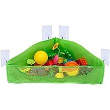 YOUTHUP Baby Bath Tub Toy Net Organizer Bathroom Mesh Kids Toy Storage Bags, Green
