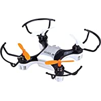 X-Drone Nano 2.0 Aerial Drone Quadcopter Radio Controlled High Performance UFO for RC Enthusiasts, Black