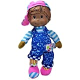 """Baby's First Rappin Robbie 12"""" Soft Body Machine Washable Rapping Baby Doll for Boys and Girls 12 Months+"""