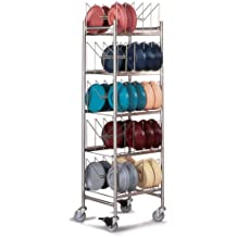 Dinex Stainless Steel Dome Storage Mobile Rack, 19.50 x 20.25 x 73 inch -- 1 each.