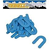 "1/16"" Horseshoe Shim Tile Spacer Blue 200/JAR Troxell USA -"