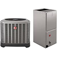 4 Ton Rheem 14 SEER R410A Heat Pump Split System (No Heat Strip)