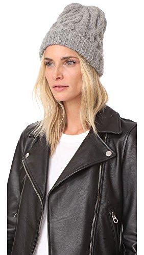 Eugenia Kim Women's Jill Beanie Cap, Light Grey, One Size by Eugenia Kim