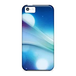 linJUN FENGJeffrehing Scratch-free Phone Case For Iphone 5c- Retail Packaging - Abstract