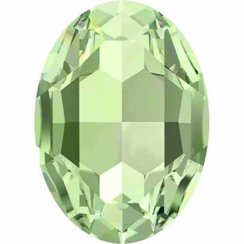 4127 Swarovski Fancy Stones Oval Rich Cut | Chrysolite | 30x22mm - Pack of 1 | Small & Wholesale (Chrysolite Pack)