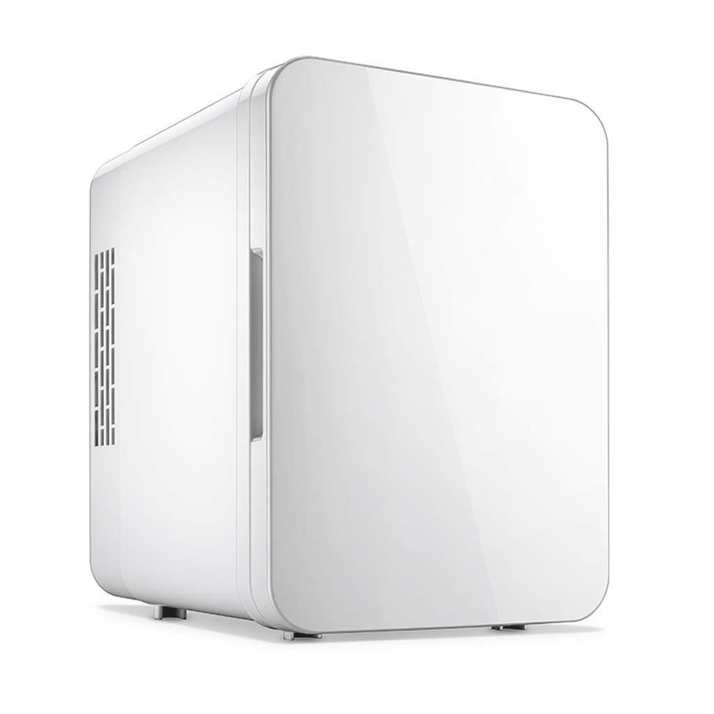 Mini Fridges 4L White Car Refrigerator Multi-Function Car Home Dual-use Heater Mini Student Dormitory Refrigerated Refrigerator Home Child Breast Milk Incubator A+