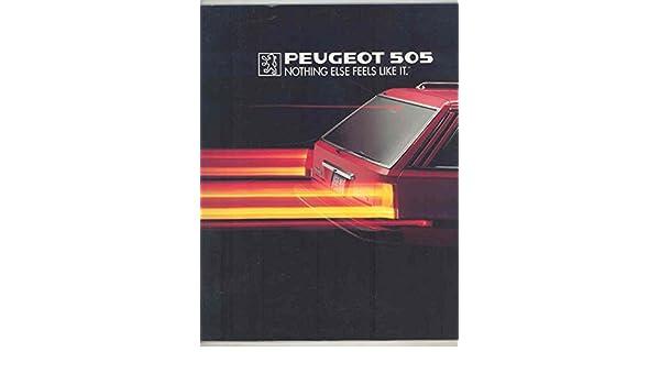 Amazon.com: Peugeot US 505 Turbo & Liberte Large Brochure: Entertainment Collectibles