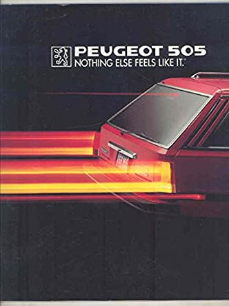 Peugeot US 505 Turbo & Liberte Large Brochure