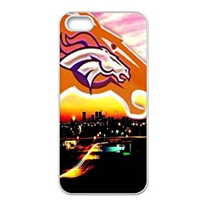 Denver Broncos iPhone 4 4s Cell Phone Case White persent zhm004_8487278