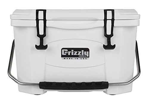 Grizzly 20 Quart White/Cooler