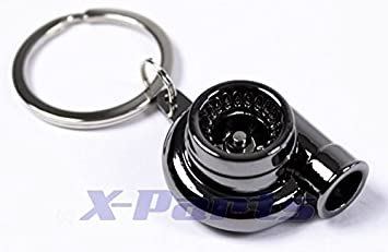 X-Parts Turbolader HF Turbo Jonny - Llavero de turbocompresor con Rueda de paletas giratoria, Color Negro: Amazon.es: Coche y moto
