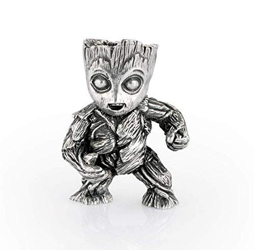 Royal Selangor Hand Finished Marvel Collection Pewter Groot Mini Figurine Gift