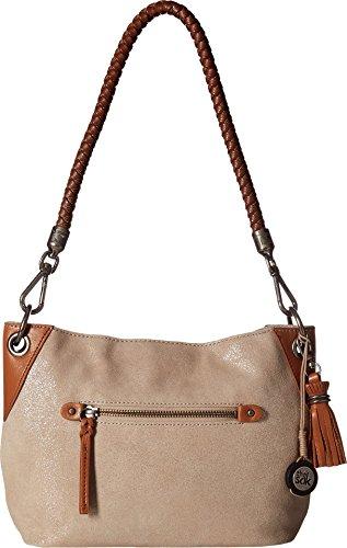 The Sak Women's Indio Leather Demi Nude Sparkle Handbag by The Sak