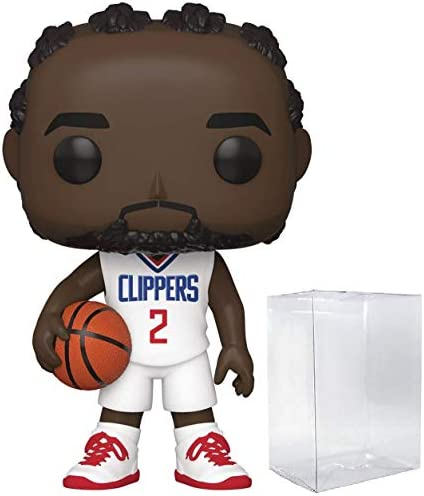 Kawhi Leonard LA Clippers #67 Pop Sports NBA Action Figure (Bundled with Pop Protector to Protect Display Box)